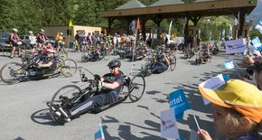 Handbike Battle 2019 – Motivation und Emotion am Kaunertaler Gletscher