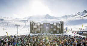 Sölden: 21.000 Fans beim Electric Mountain Festival 2017