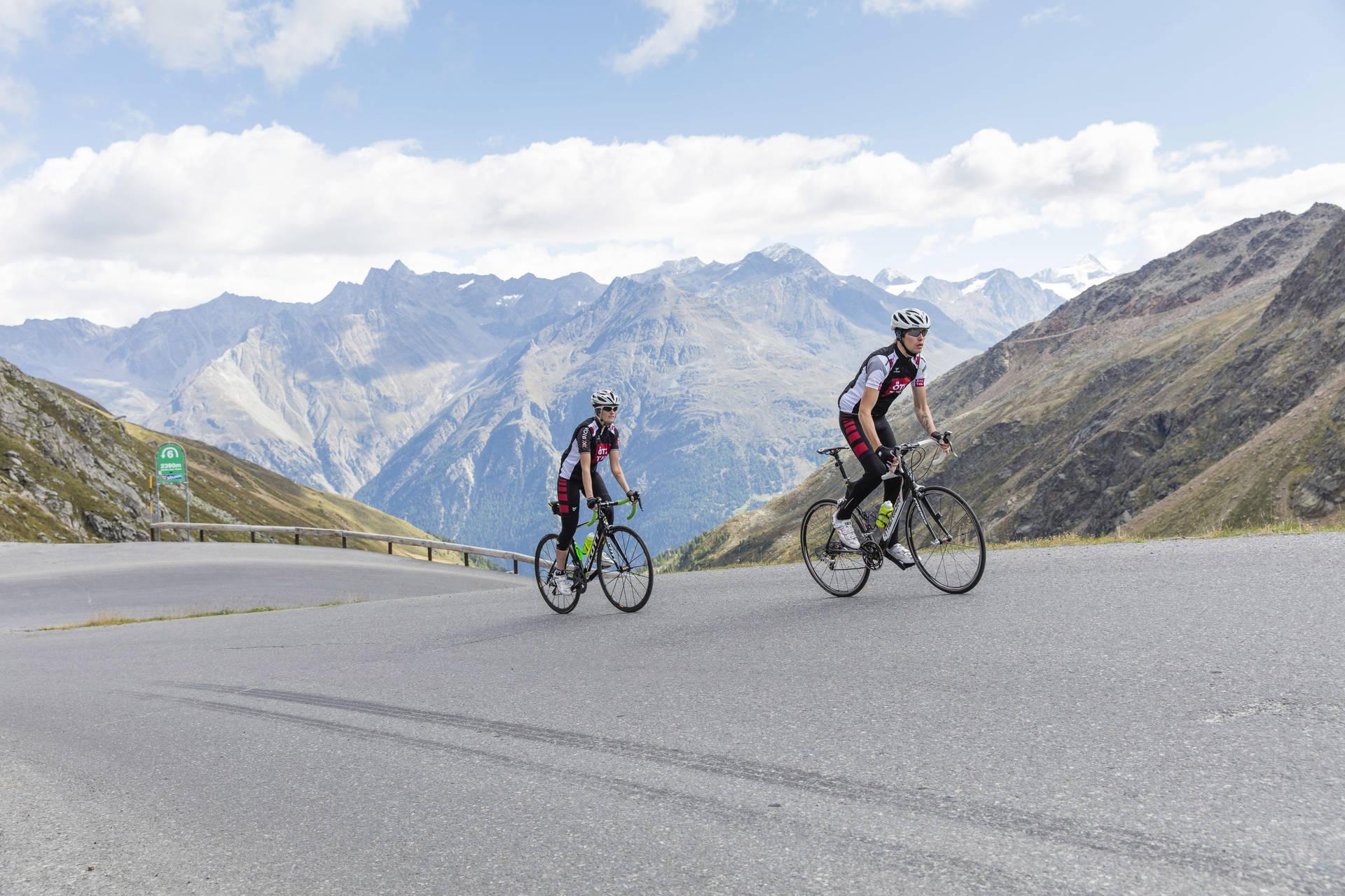 Das Dach der Tour de Suisse liegt im Ötztal - Polak Mediaservice