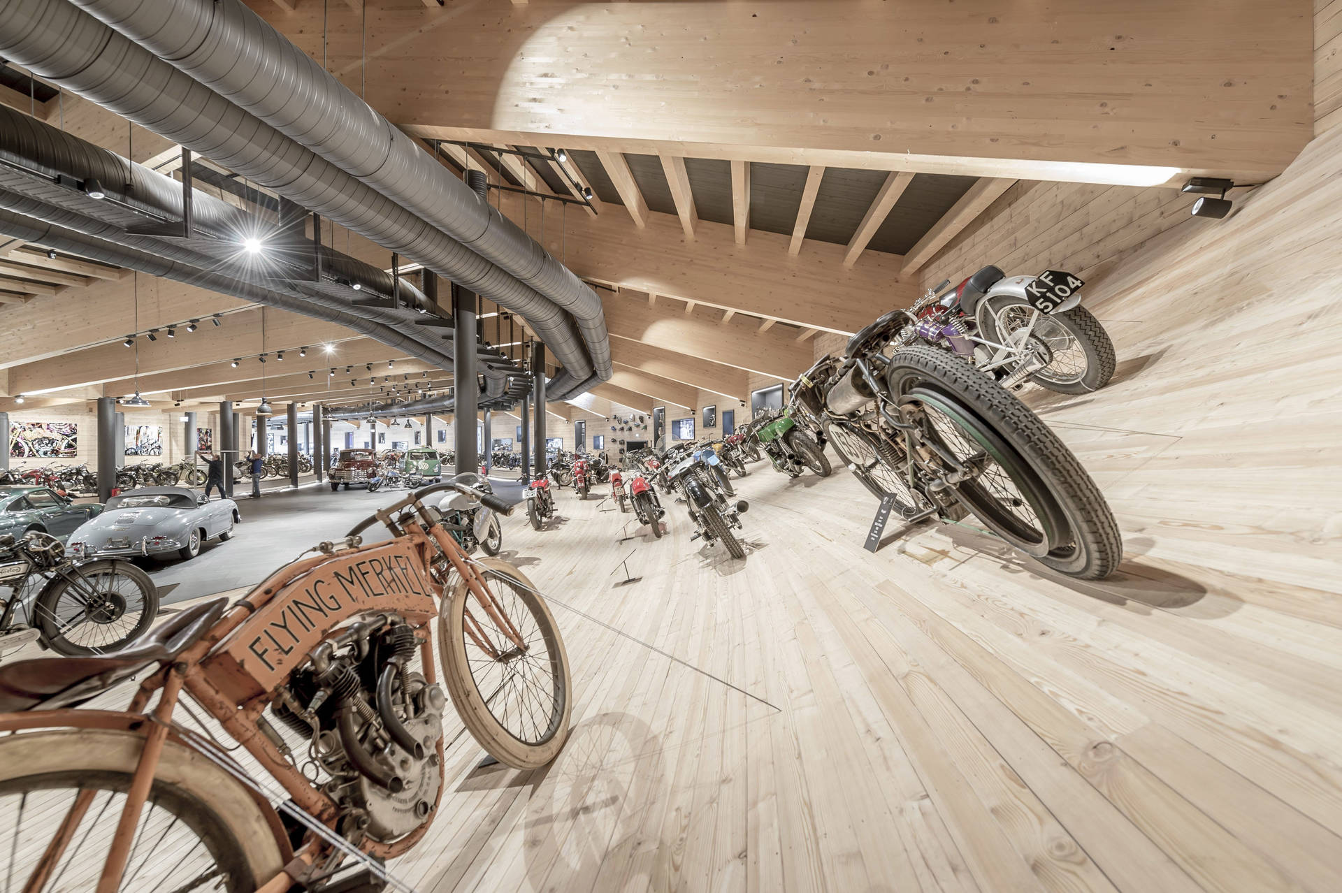 Einmalige PS Schätze im Top Mountain Motorcycle Museum in