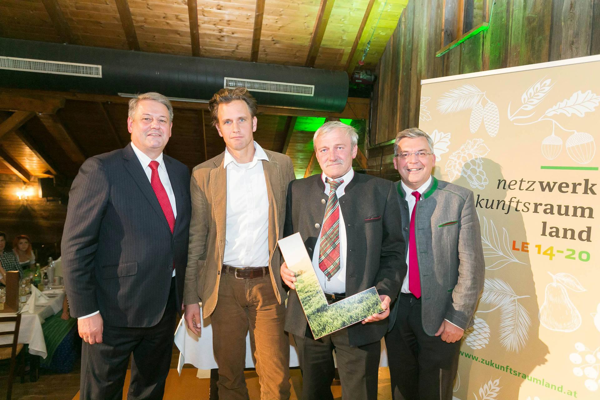 BIO vom BERG: Auszeichnung zum innovativen Biobetrieb
